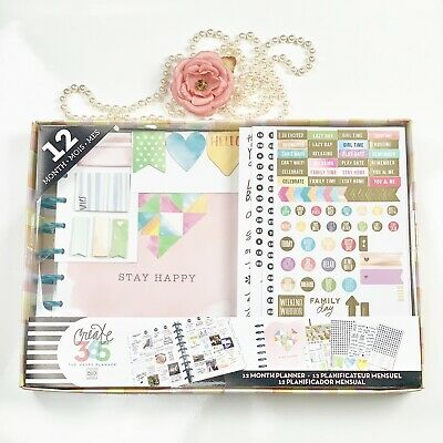 Create 365 The Happy Planner 12 months memory big ideas