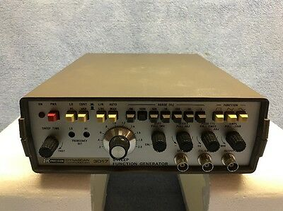 NOS Dynascan Model 3017 Sweep Function Generator in the Box w/ Manuals & Extras!