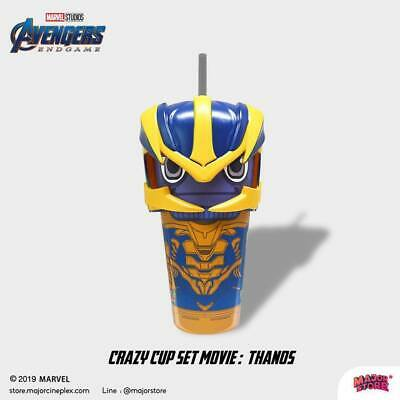 Marvel Avengers Endgame Movie Thanos Crazy Cup Avengers Endgame Theater Cups