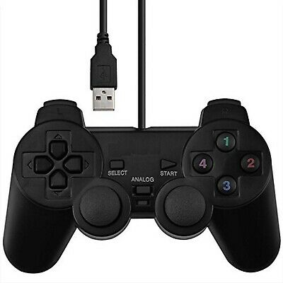 Joystick Usb Dual Shock Gamepad Gaming Controller [Double Vibration Feedb