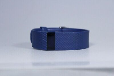 GENUINE Fitbit Charge HR Wireless Activity Wristband XRA FB405 BLUE (UNTESTED)