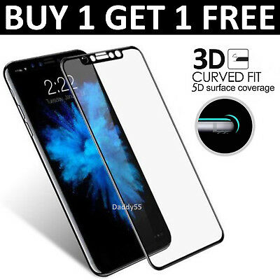 For Apple IPhone X 10 - 100% Genuine Tempered Glass Film Screen Protector New