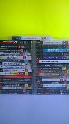 Bunch Of Cheap Clean Disc Ps3 Games Playstation 3 Video Games