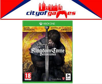 Kingdom Come Deliverance Royal Edition Xbox One Game New & Sealed In Stock