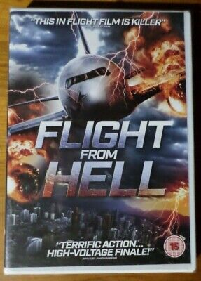 """Flight from Hell - DVD (New & Sealed) (15) """"Action Drama"""" (2014)"""
