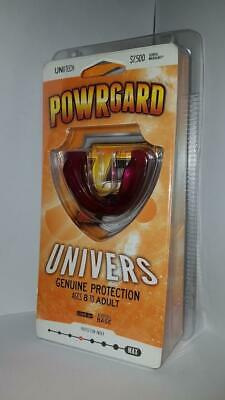 POWRgard Univers Mouth Guard Ages 8 to Adult Maroon Colour BRAND NEW AUS STOCK