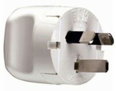 HPM PLUG TOP 10A 250V 4-Pins Flat, Screwed Terminal WHITE *Australian Brand