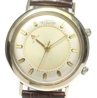 JAEGER LE COULTRE Vintage Memovox Alarm Hand-winding cal.K814 Men's Watch_477380