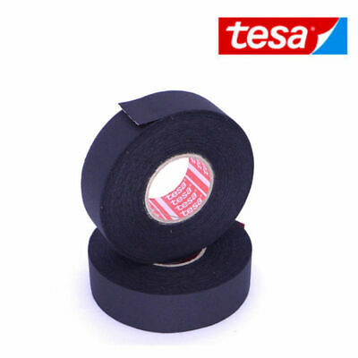 NEW TESA TAPE 51026 ADHESIVE CLOTH FABRIC WIRING LOOM HARNESS 19/25mm x 25m