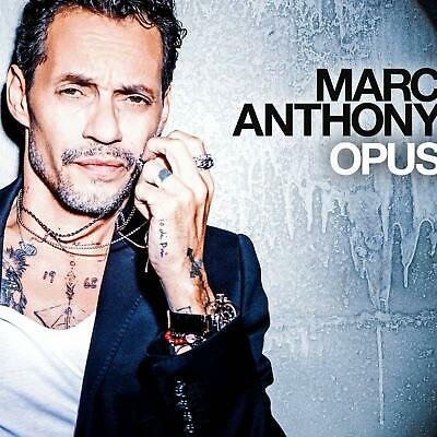 OPUS by Marc Anthony Audio CD Disc #5 in Pop 1st album in 6 year Top selling NEW