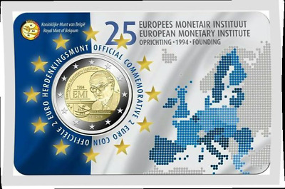 2 EURO 2019 CC  ***  EMI - European Monetary Institute *** België - Belgique !!!