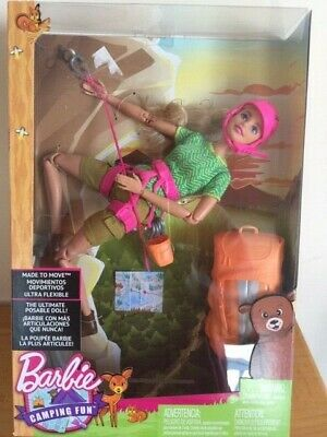 Barbie Made to Move The Ultimate Posable Rock Climber Doll - NEW