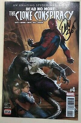 The Clone Conspiracy - Comic #004 Signed By Dan Slot
