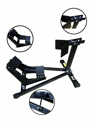 """New Motorcycle Motorbike Road 15""""-19"""" Front Wheel Support Chock Transport Stand"""