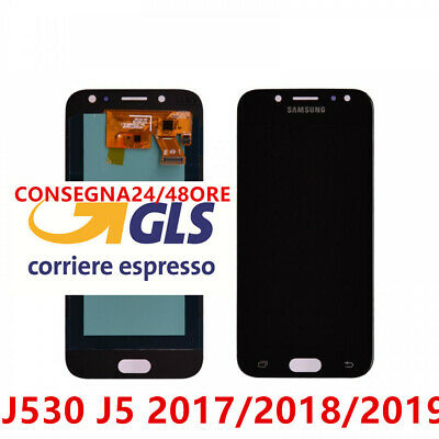Display LCD + Touch Screen Samsung Galaxy J5 2017 J530F Schermo Vetro NERO