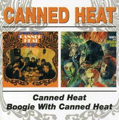 Canned Heat - Canned Heat/Boogie With  Cd New