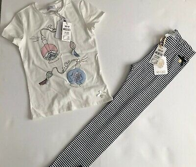 Le Chic Girls Legging And T Shirt Outfit BNWT AGE 9/10 Yrs