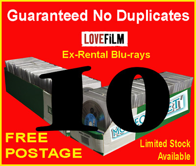 ​10 x LOVEFILM Ex-Rental Blu-Ray Movies, OVERSTOCK, JOBLOT, WHOLESALE, CLEARANCE