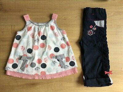 Girls Petit Lem Blouse Top & Trousers Outfit Set | 2 Years