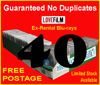40 x LOVEFILM Ex-Rental Blu-Ray Movies, OVERSTOCK, JOBLOT, WHOLESALE, CLEARANCE