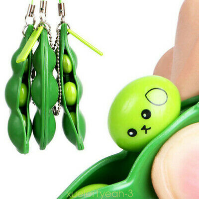 1X Anti-Anxiety Fidget Toy Stress Relief Toy For Adults Autism keyring Pendant