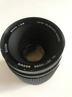 Vivitar 90mm f2.8 Macro 1:1, Rare Komine Version converted Canon EF Mount