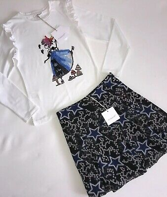 Pinko Girls Skirt And Top BNWT Age 10 Yrs RRP £158 ‼️‼️NOW £72 ‼️‼️