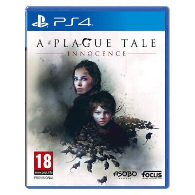 A Plague Tale Innocence PS4 2019 EU English Chinese Factory Sealed