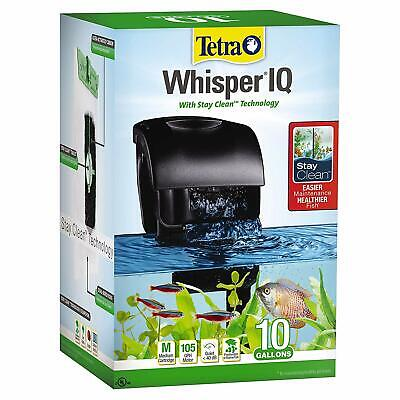 Tetra Whisper IQ Power Filter for Aquariums, With Quiet Technology