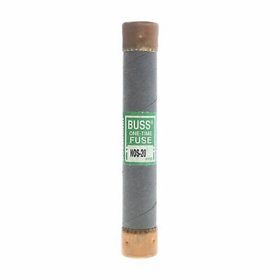 NOS-20 - 20A 1-Time Cartridge Fuse Non-Current Limiting Class K5 600V (1/Pk)