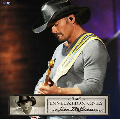 TIM McGRAW - 2 RARE CONCERT DVDs, 2009 & 2010  ~ Very Rare,  PBS & CMT