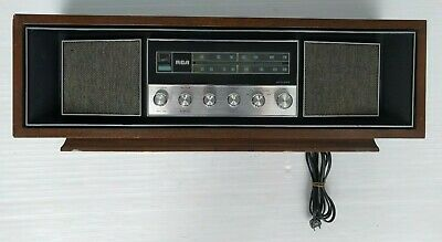 RCA Model RLC 75 W Walnut Japan 303 - Good Working Condition