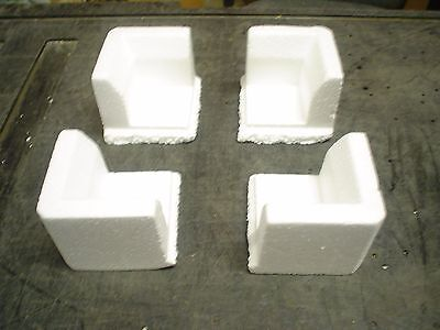 Qty 64 Styrofoam Polystyrene corner for packing & shipping - Protectors