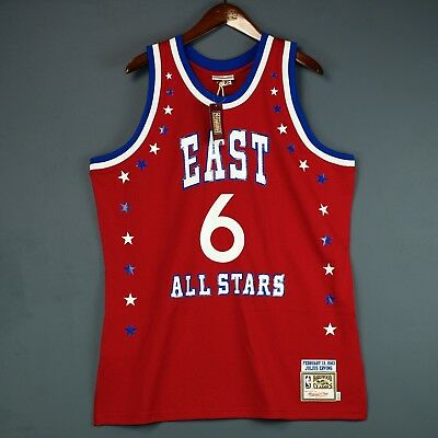 602ed3c92 100% Authentic Julius Erving Dr J Mitchell Ness 1983 All Star Jersey Size  48 XL