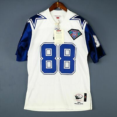 484a36929a7 100% Authentic Michael Irvin Mitchell & Ness 95 Cowboys NFL Jersey Size ...