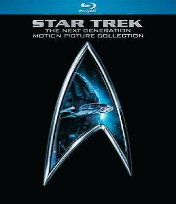 Star Trek: The Next Generation Motion Picture Collection [Blu-ray] 5 disc set
