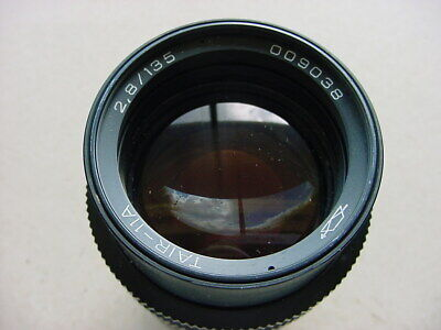 TAIR-11A VINTAGE M42 135mm f2.8 TELEPHOTO LENS FOR PENTAX ZENITH ETC. GOOD COND.