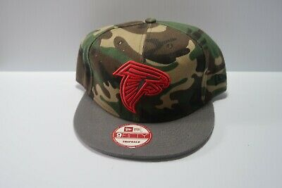 wholesale dealer 8adc3 f30cf New Era NFL Vintage Collection Atlanta Falcons Camo 9Fifty Snapback