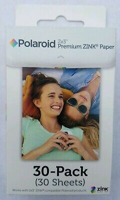 Polaroid 2x3 inch Premium ZINK Photo Paper - 30 Sheets Total New