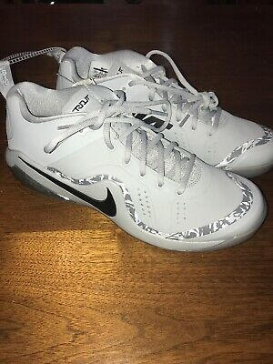42490625aa4 New  120 Nike Force Zoom Trout 4 Turf Shoes Mike Trout 917838-002 Grey SZ