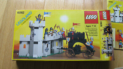 Lego Castle System Set 6062 Battering Ram With Box And Instructions