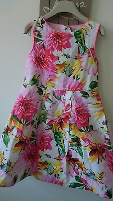 Next girl summer party holiday dress 7 years worn once