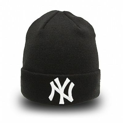 New York NY Yankees MLB New Era Black Seasonal Cuff Knit - New w/Tags