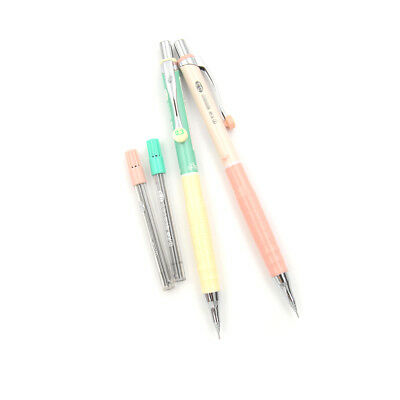 1Set 0.3mm Mechanical Pencil+Pencil Lead Office School Writing Drawing J!