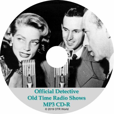 Official Detective Old Time Radio Shows OTR OTRS 5 Episodes MP3 CD-R