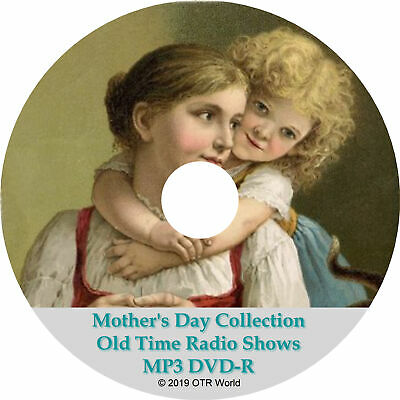 Mother's Day Collection Old Time Radio Shows OTRS MP3 DVD 182 Episodes