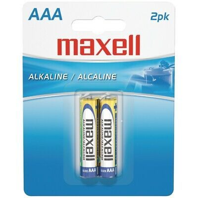 Maxell 723807 Alkaline Batteries Lr03 2Bp Aaa Cell 2Pk