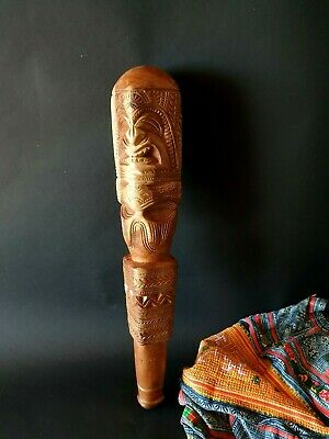 Old Polynesian Carved Ceremonial Club …beautiful collection piece