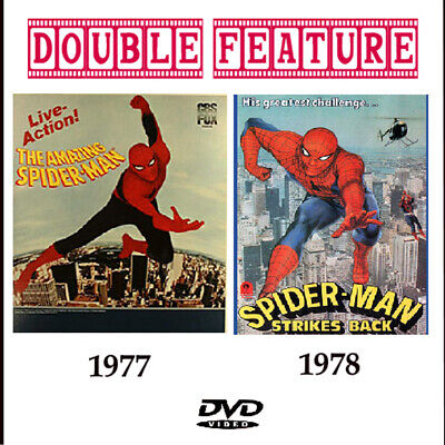 The Amazing Spiderman & Spiderman Strikes Back DVD 1977/ 78 Nicholas Hammond
