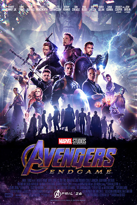 AVENGERS ENDGAME 27x40 Light Box DS POSTER Captain America Marvel banner Thor